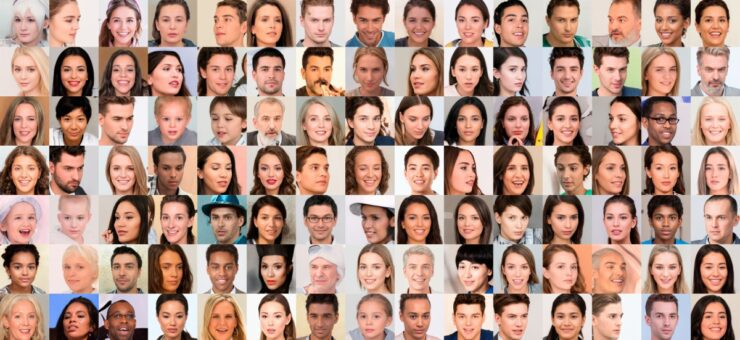 Generated Photos: 100,000 Free AI Generated Faces for Your Designs