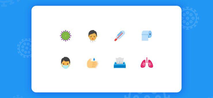 Design Freebie: Free SVG Icons on Coronavirus in Different Styles