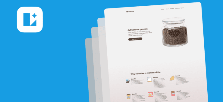 How To Create A Landing Page In Lunacy