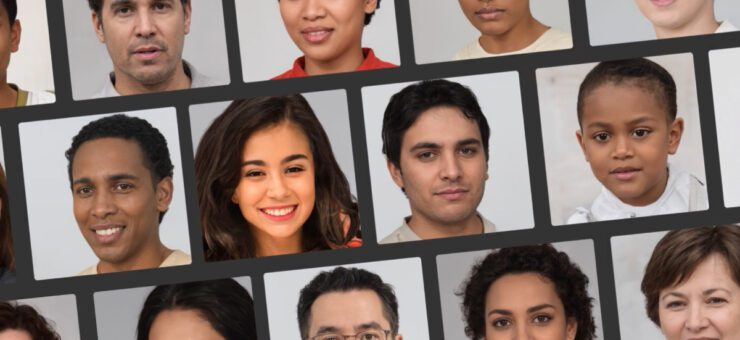 Face Generator: create unique human faces in real time using AI