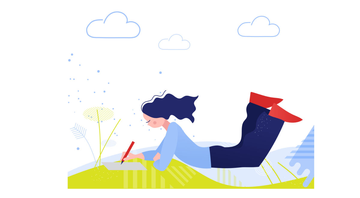 Sunkissed: a collection of refreshing summer illustrations:Summer time in Clip style