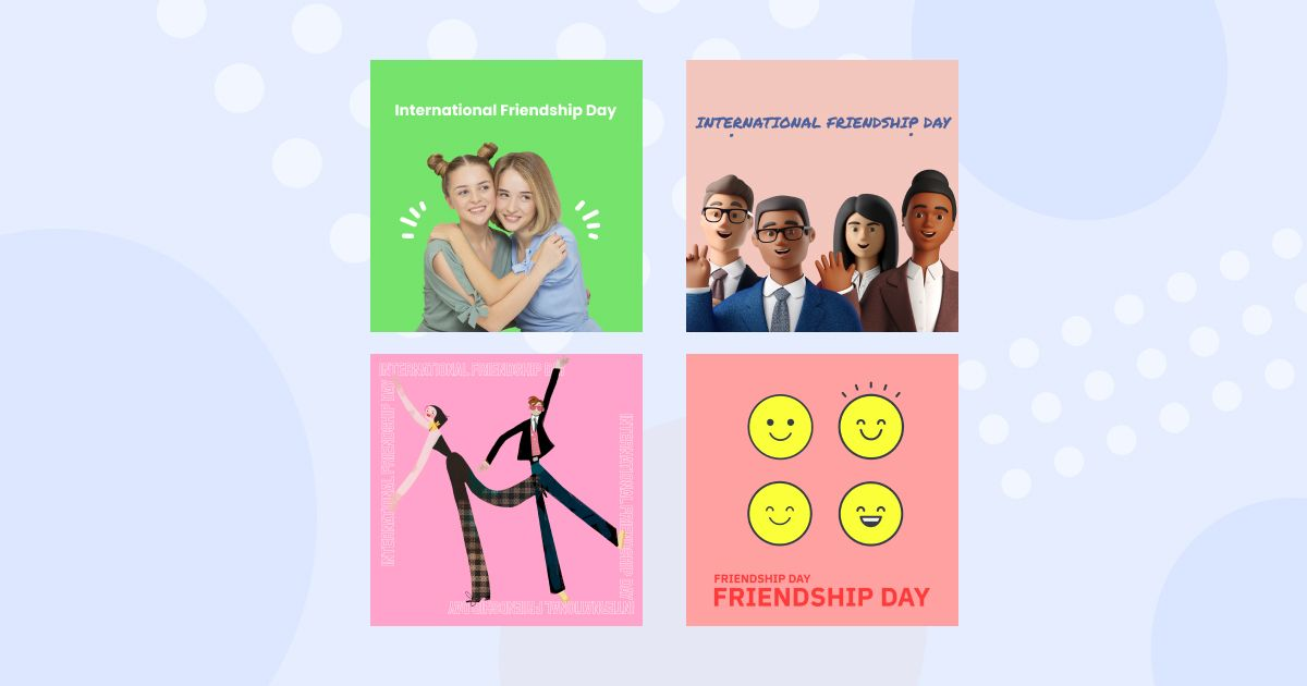 Friends Only: a special collection of Friendship Day images