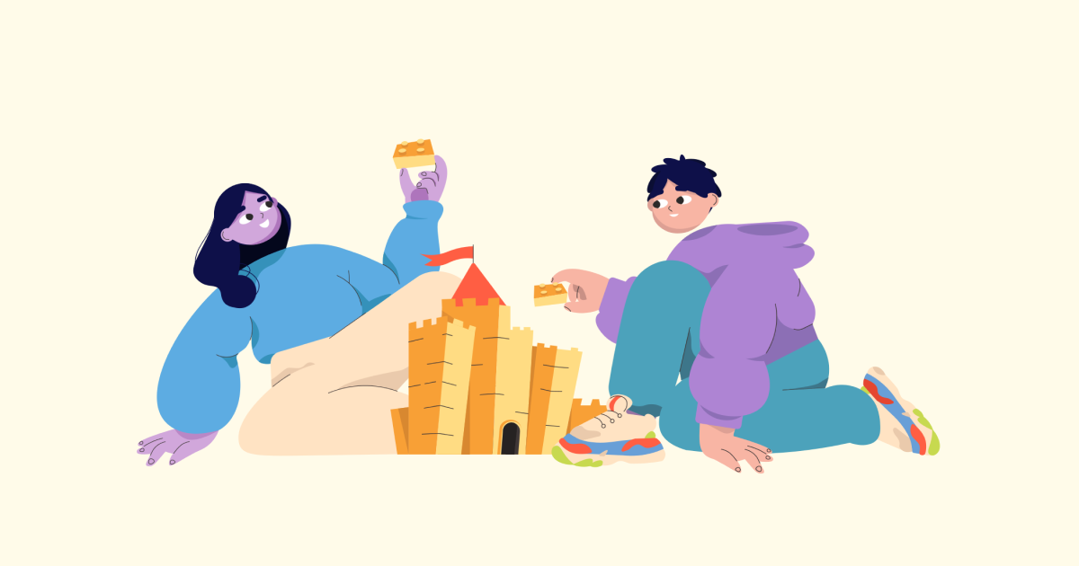 Friends Only: a special collection of Friendship Day images: Teamwork illustration
