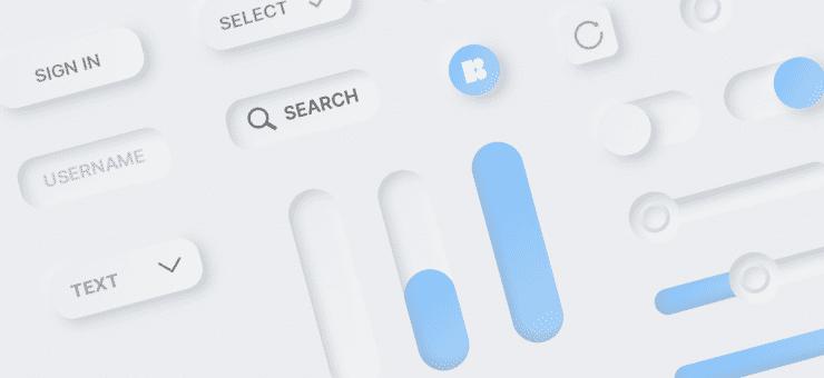 Lunacy tutorial: Neumorphism in UI design