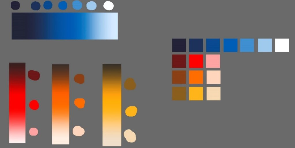 How to create a beautiful Pixel Art environment in Clip Studio Paint: Choosing the Color palette