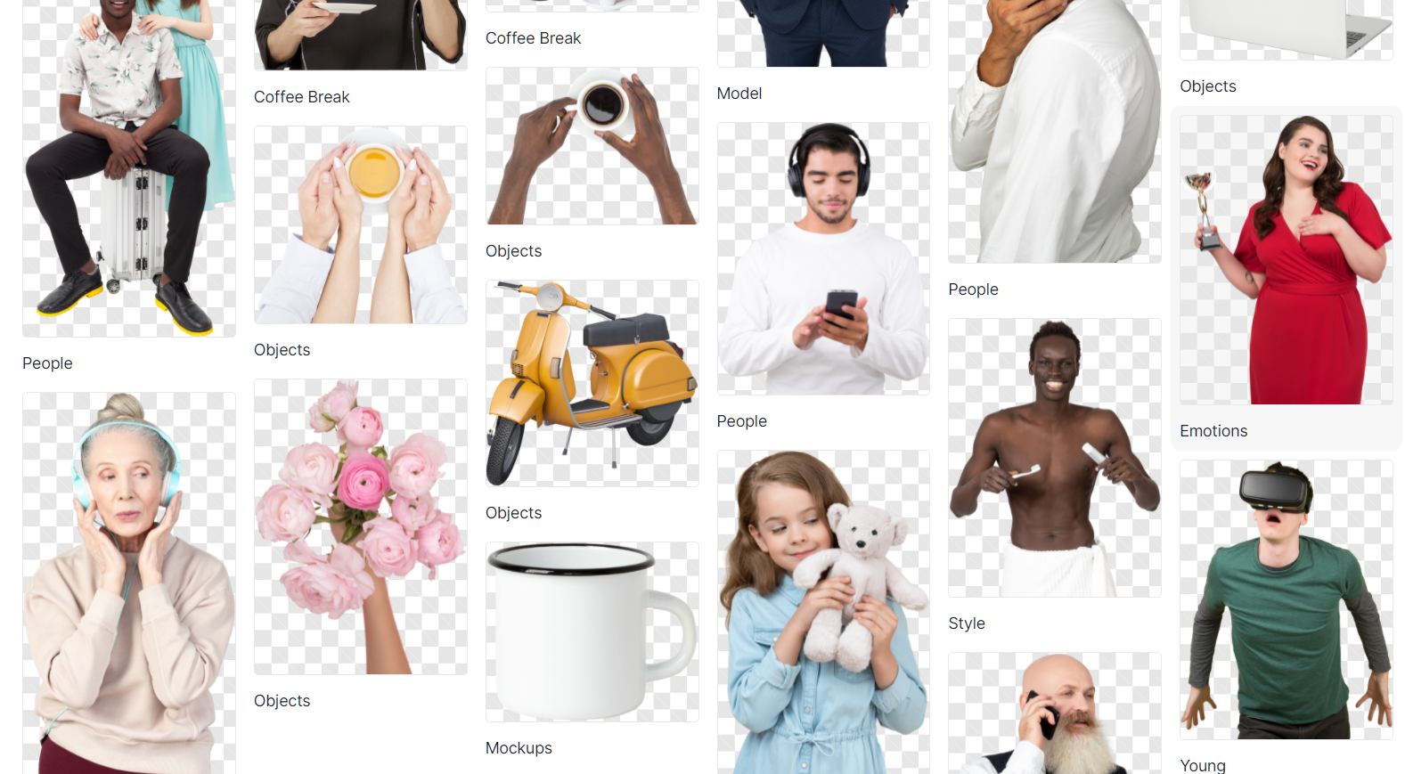 Working secrets of a stock photographer: posing hacks, cemetery adventures, and a rowdy raccoon: Diverse collection of masked models